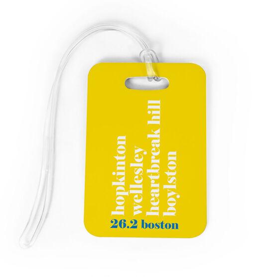 Running Bag/Luggage Tag - Run Mantra (Boston)