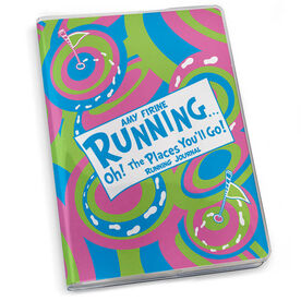 GoneForaRun Running Journal - Oh The Places You'll Go