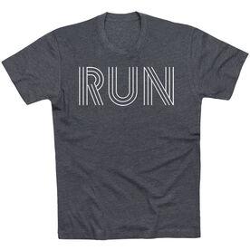 Running Short Sleeve T-Shirt - Run Lines