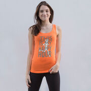 Women's Athletic Tank Top This Is My Happy Hour