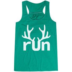 Flowy Racerback Tank Top - Reindeer Run