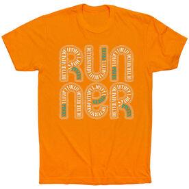 Running Short Sleeve T-Shirt - Pisces Zodiac Runner