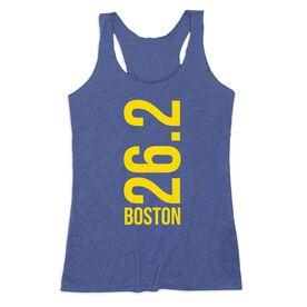 Women's Everyday Tank Top - Boston 26.2 Vertical