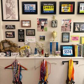 BibDISPLAY - Runners Race Bib Frame