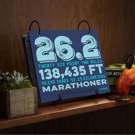 BibFOLIO® Race Bib Album - 26.2 Math Miles