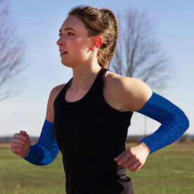 Running Printed Arm Sleeves - Run Run Repeat