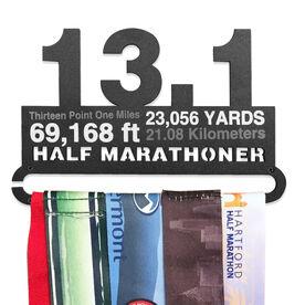 Race Medal Hanger 13.1 Math Miles MedalART