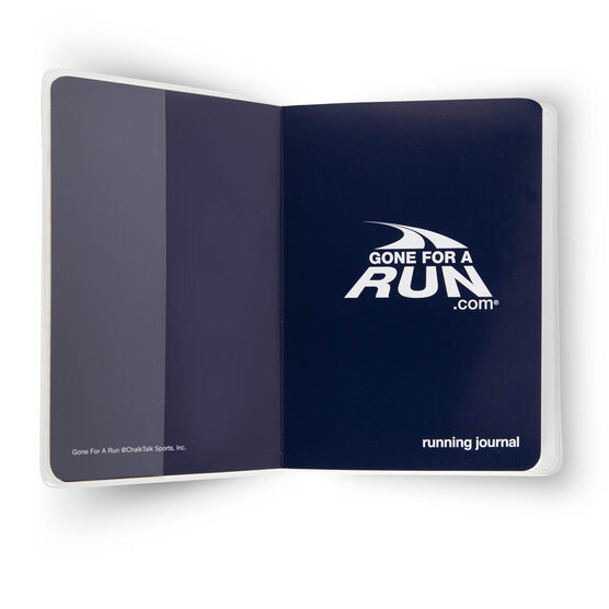 GoneForaRun Running Journal - Vintage Only Those Who Risk