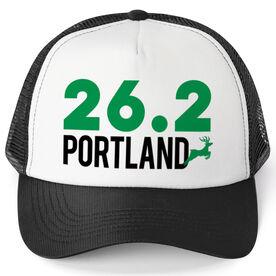 Running Trucker Hat - Portland 26.2