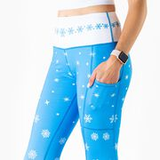Women's Performance Side Pocket Tights - Enchanted