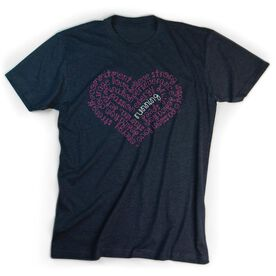 Running Short Sleeve T-Shirt - Inspiration Heart