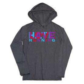 Women's Running Lightweight Hoodie - Love Hate Running