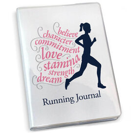 GoneForaRun Running Journal - Believe Running Girl