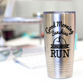 Running 20oz. Double Insulated Tumbler - Good Morning Sunshine with Runner