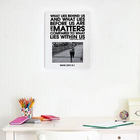 Running Photo Frame - What Lies Behind Us