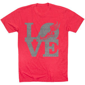 Track & Field Short Sleeve T-Shirt - Winged Foot Love
