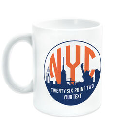Running Coffee Mug - New York Twenty Six Point Two