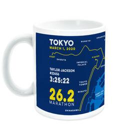 Running Coffee Mug - Personalized Tokyo Map
