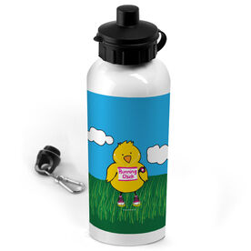20 oz. Stainless Steel Water Bottle Running Chick