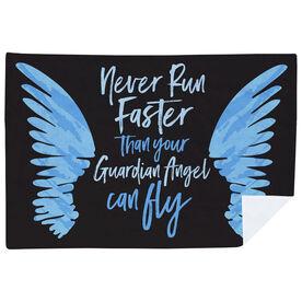 Running Premium Blanket - Run With Your Angel
