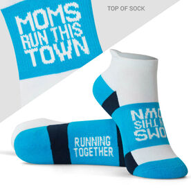 Socrates® Woven Performance Sock - Moms Run this Town
