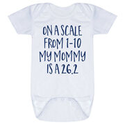 Running Baby One-Piece - My Mommy Is A 26.2