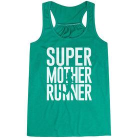Flowy Racerback Tank Top - Super Mother Runner