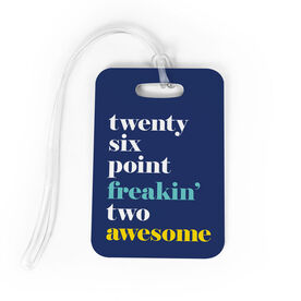 Running Bag/Luggage Tag - Run Mantra (Awesome)