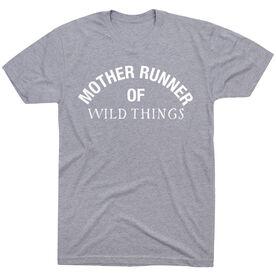 Running Short Sleeve T-Shirt - Mother Runner of Wild Things