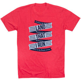 Running Short Sleeve T-Shirt - Land That I Run
