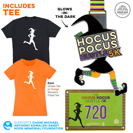 Virtual Race - Hocus Pocus Hustle 5K (2019)