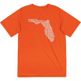 Men's Running Short Sleeve Tech Tee - Florida State Runner