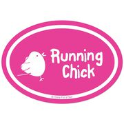 Running Chick Decal (Pink)