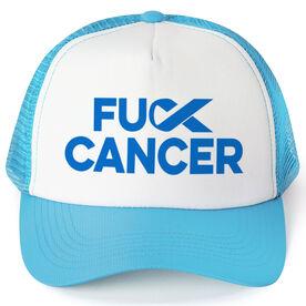 Running Trucker Hat - FU Cancer