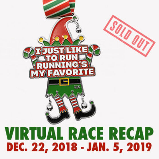 Virtual Race - I Just Like To Run, Running's My Favorite 5K (2018)
