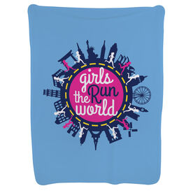 Running Baby Blanket - Together Girls Run the World