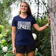 Women's Running Short Sleeve Tech Tee South Dakota State Runner