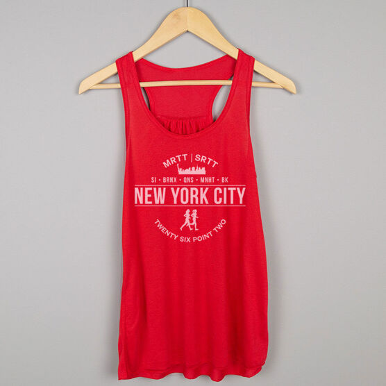 Flowy Racerback Tank Top - New York City 26.2 (MRTT/SRTT)