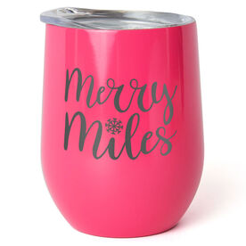 Running Stainless Steel Wine Tumbler - Merry Miles