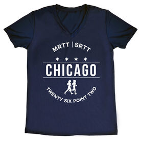 Women's Running Short Sleeve Tech Tee - Chicago 26.2 (MRTT/SRTT)