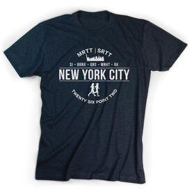 Running Short Sleeve T-Shirt - New York City 26.2 (MRTT/SRTT)