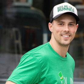 Running Trucker Hat - Kiss Me I'm A Runner