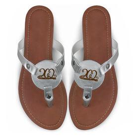Running Engraved Thong Sandal 26.2