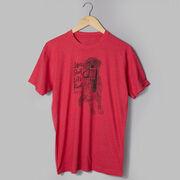 Running Short Sleeve T-Shirt - Life's Short. Let's Run!