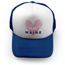 Running Trucker Hat Run Maine