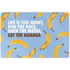 "Running 18"" X 12"" Wall Art - Eat The Banana"