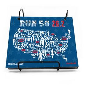 BibFOLIO® Race Bib Album - Run 50 26.2