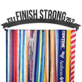 Race Medal Hanger Finish Strong MedalART
