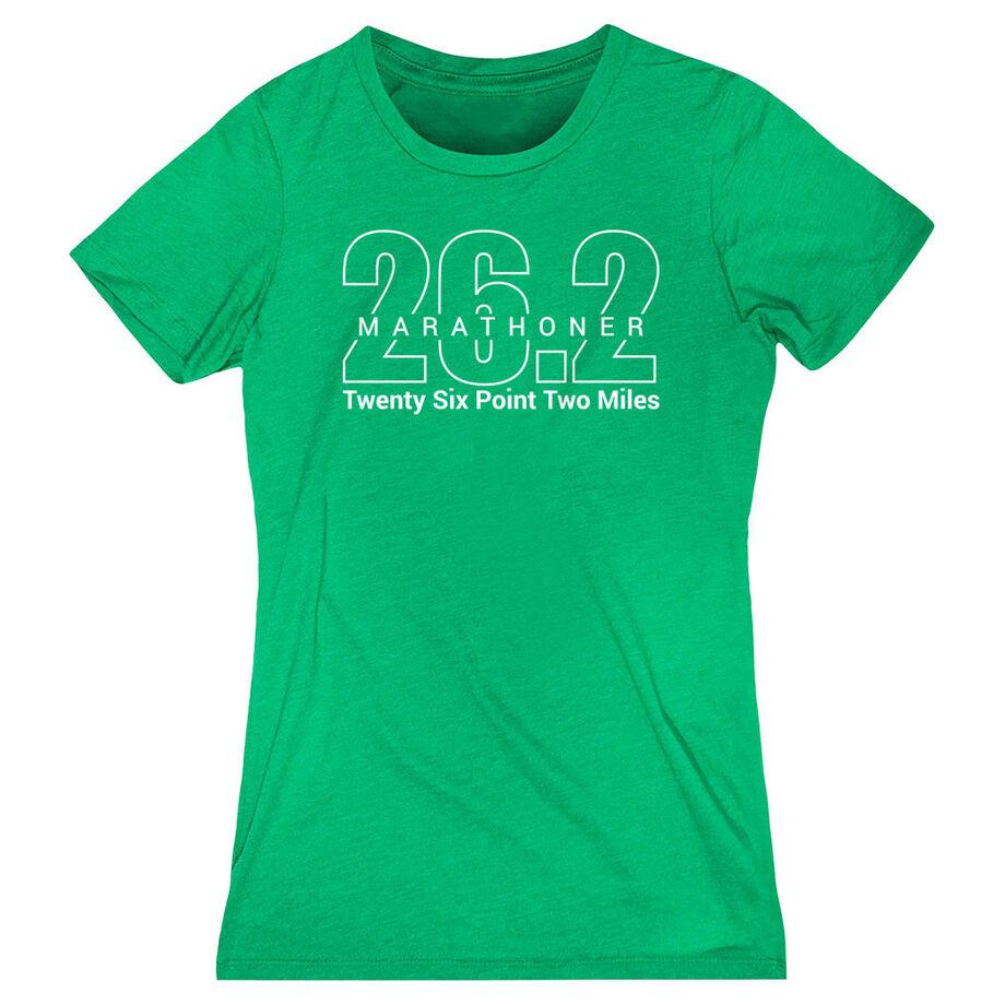 Women's Everyday Runners Tee - Marathoner 26.2 Miles