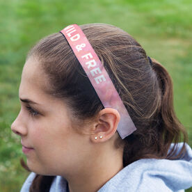 Running Julibands No-Slip Headbands - Personalized Watercolor